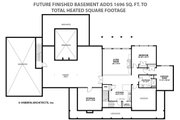 Country Style House Plan - 4 Beds 4.5 Baths 4932 Sq/Ft Plan #928-276 Floor Plan - Other Floor Plan