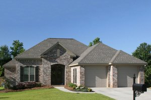 Home Plan - European Exterior - Other Elevation Plan #430-66