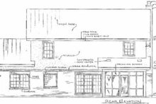 Traditional Exterior - Rear Elevation Plan #14-219