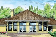 Home Plan - Exterior - Front Elevation Plan #124-249