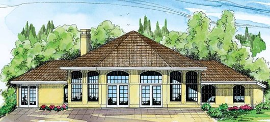 Exterior - Front Elevation Plan #124-249