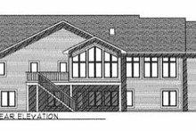 Dream House Plan - Mediterranean Exterior - Rear Elevation Plan #70-414