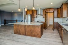 Ranch Interior - Kitchen Plan #70-1484