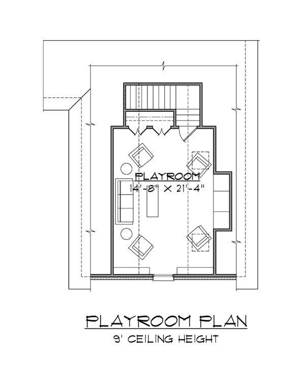 Dream House Plan - Traditional Floor Plan - Upper Floor Plan #1054-86