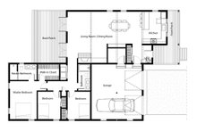 Traditional Floor Plan - Main Floor Plan Plan #497-42