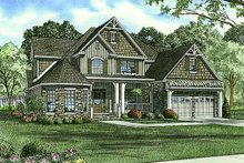 House Plan Design - Country Exterior - Front Elevation Plan #17-1169
