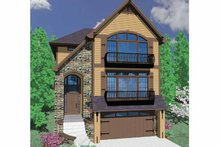 Country Exterior - Front Elevation Plan #509-328