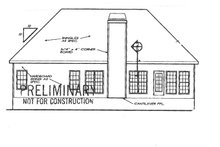 Country Exterior - Rear Elevation Plan #927-240