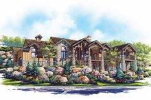 Architectural House Design - Craftsman Exterior - Front Elevation Plan #945-66