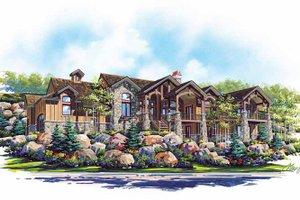 Craftsman Exterior - Front Elevation Plan #945-66