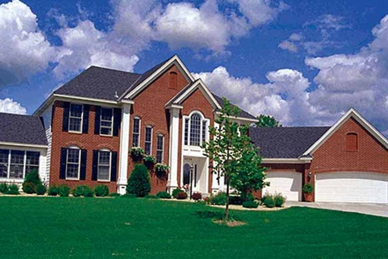 Traditional Exterior - Front Elevation Plan #51-941 - Houseplans.com