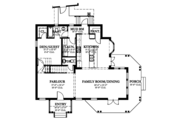 Country Style House Plan - 4 Beds 4.5 Baths 3327 Sq/Ft Plan #1058-149 Floor Plan - Main Floor Plan