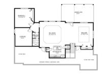 Craftsman Floor Plan - Other Floor Plan Plan #437-69
