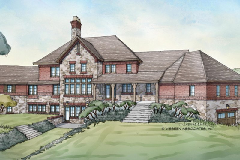 Country Exterior - Rear Elevation Plan #928-265 - Houseplans.com