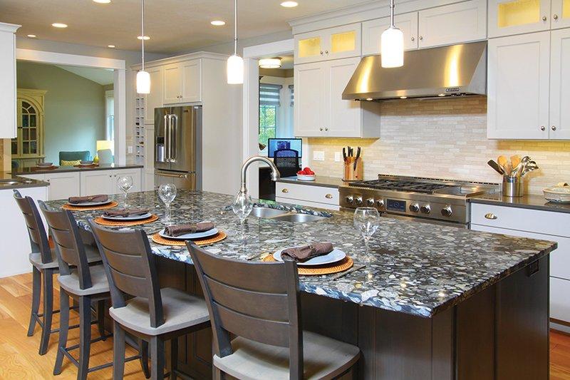 Craftsman Interior - Kitchen Plan #928-277 - Houseplans.com
