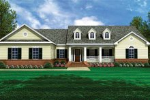 House Plan Design - Country Exterior - Front Elevation Plan #21-411
