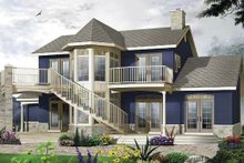 Dream House Plan - Victorian Exterior - Front Elevation Plan #23-725