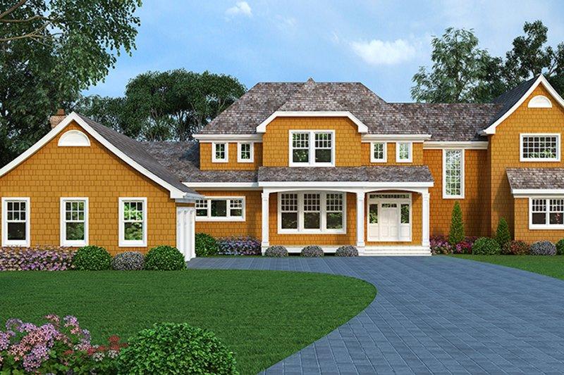 Craftsman Exterior - Front Elevation Plan #314-294 - Houseplans.com