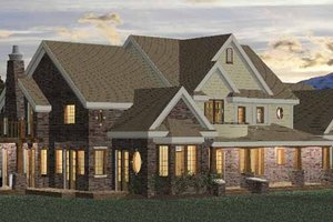 Home Plan - Classical Exterior - Front Elevation Plan #937-23