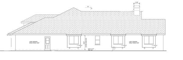 Architectural House Design - Craftsman Floor Plan - Other Floor Plan #1058-47