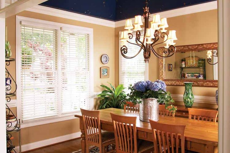 Victorian Interior - Dining Room Plan #929-557 - Houseplans.com