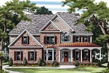 Traditional Exterior - Front Elevation Plan #927-230