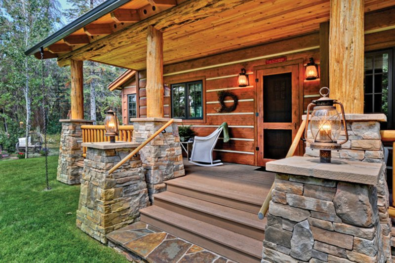 Cabin Exterior - Other Elevation Plan #942-25 - Houseplans.com