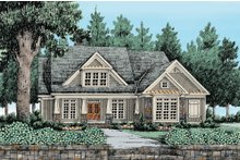Craftsman Exterior - Front Elevation Plan #927-4