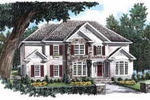 House Plan Design - Country Exterior - Front Elevation Plan #927-688