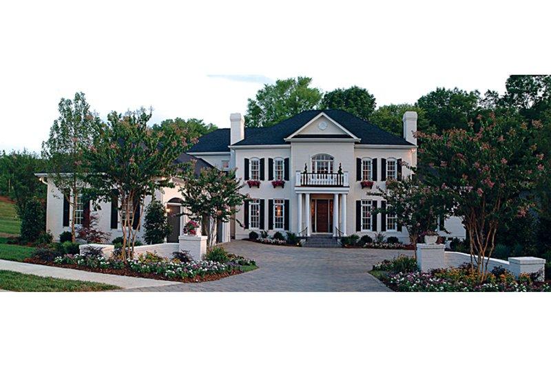 Colonial Exterior - Front Elevation Plan #453-27 - Houseplans.com