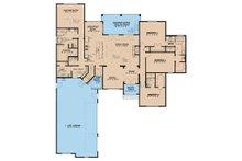European Floor Plan - Main Floor Plan Plan #17-3414