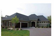 House Design - Ranch Exterior - Front Elevation Plan #51-1059