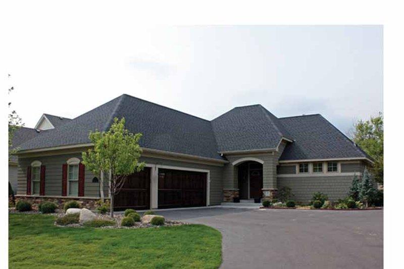 House Plan Design - Ranch Exterior - Front Elevation Plan #51-1059