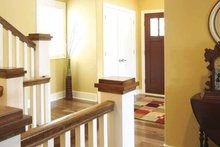 Traditional Interior - Entry Plan #928-44
