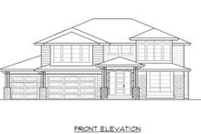 Dream House Plan - Contemporary Exterior - Front Elevation Plan #1066-80