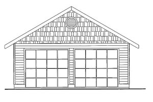 Traditional Exterior - Front Elevation Plan #117-716