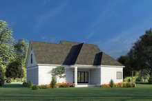 Home Plan - Traditional Exterior - Rear Elevation Plan #923-191