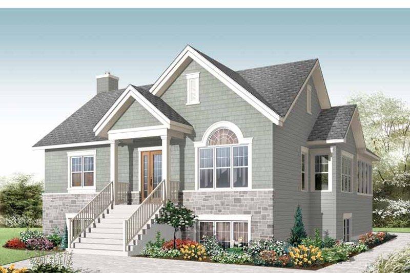 Colonial Exterior - Front Elevation Plan #23-2521 - Houseplans.com