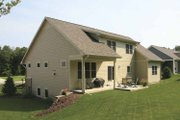 Craftsman Style House Plan - 4 Beds 2.5 Baths 2381 Sq/Ft Plan #928-124 Exterior - Rear Elevation