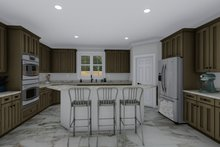 Mediterranean Interior - Kitchen Plan #1060-29