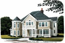 House Design - Craftsman Exterior - Front Elevation Plan #410-3570
