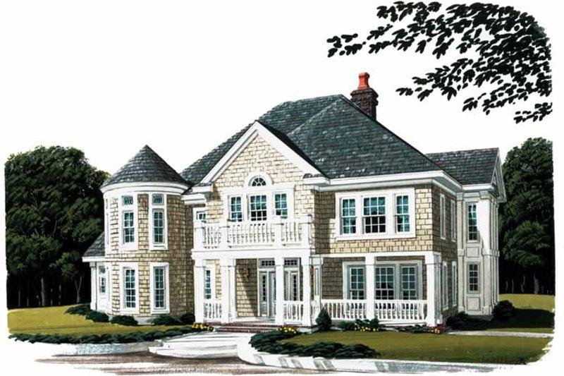 Home Plan - Craftsman Exterior - Front Elevation Plan #410-3570