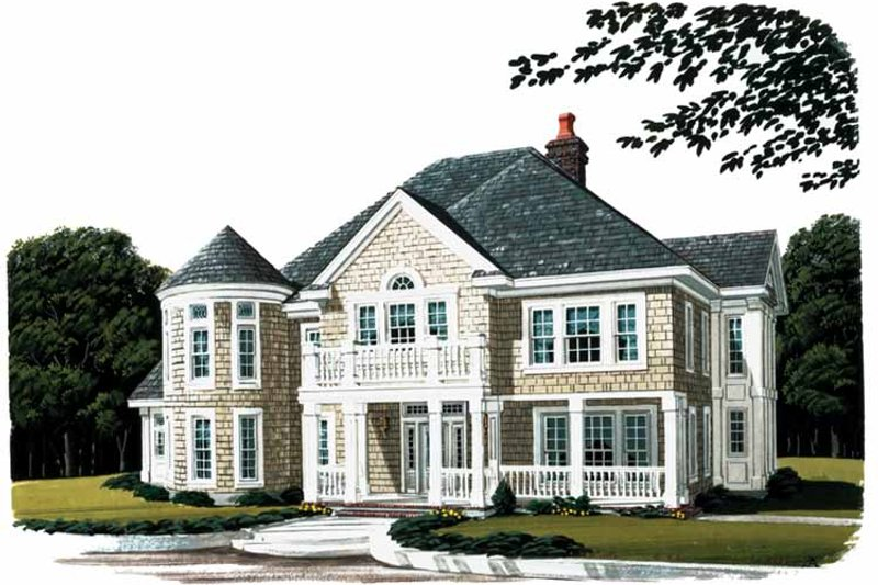 Craftsman Exterior - Front Elevation Plan #410-3570