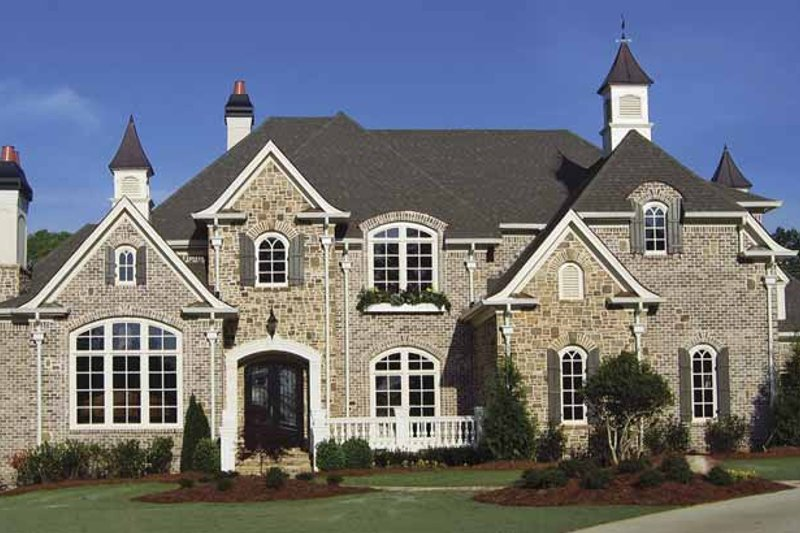 Home Plan - Country Exterior - Front Elevation Plan #54-297