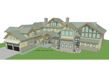 House Plan Design - Traditional Exterior - Front Elevation Plan #928-247