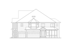 Craftsman Exterior - Other Elevation Plan #132-490
