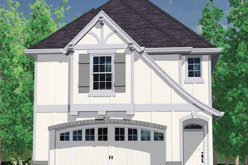Country Exterior - Front Elevation Plan #509-183 - Houseplans.com