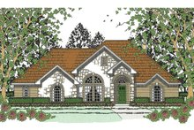 House Plan Design - Traditional Exterior - Front Elevation Plan #42-723
