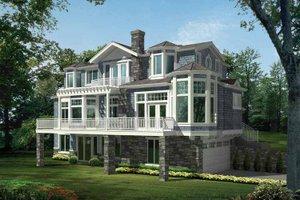 Architectural House Design - Craftsman Exterior - Front Elevation Plan #132-474
