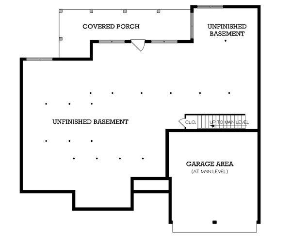 European Floor Plan - Other Floor Plan Plan #45-337